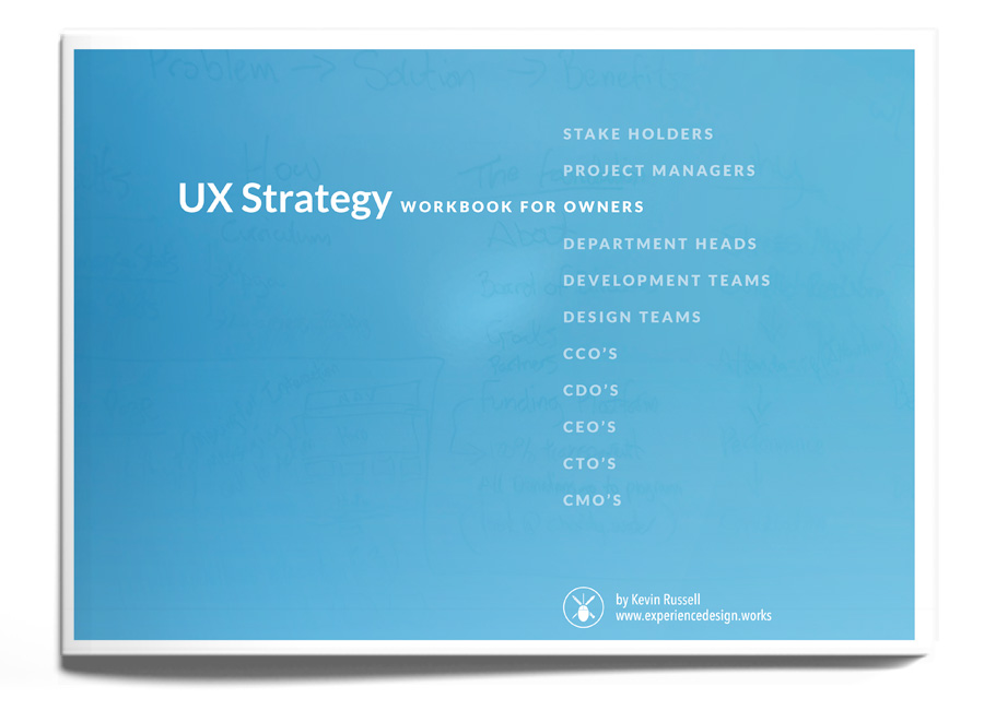 Ux strategy workbook user experience strategy product for Household experience design